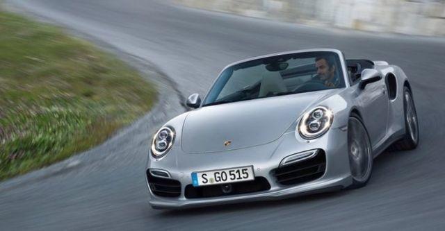 2014 Porsche 911 Turbo Cabriolet  第1張相片