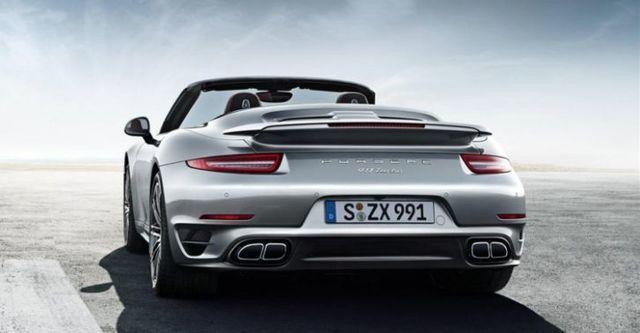 2014 Porsche 911 Turbo Cabriolet  第5張相片