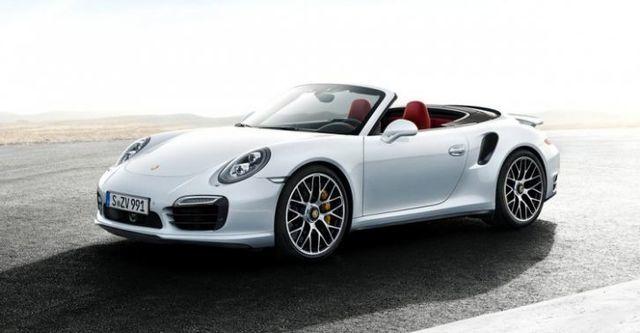 2014 Porsche 911 Turbo S Cabriolet  第1張相片