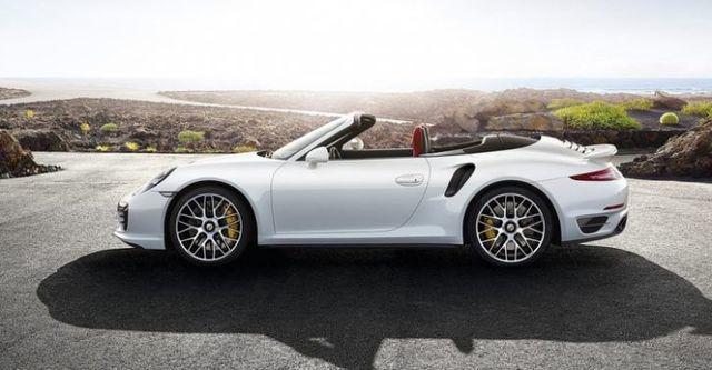 2014 Porsche 911 Turbo S Cabriolet  第4張相片