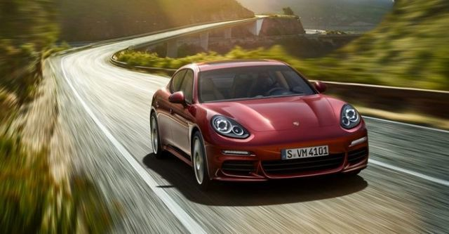 2014 Porsche Panamera 4  第1張相片