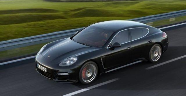 2014 Porsche Panamera Turbo  第2張相片