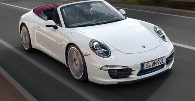 2013 Porsche 911 Carrera S Cabriolet  第1張相片