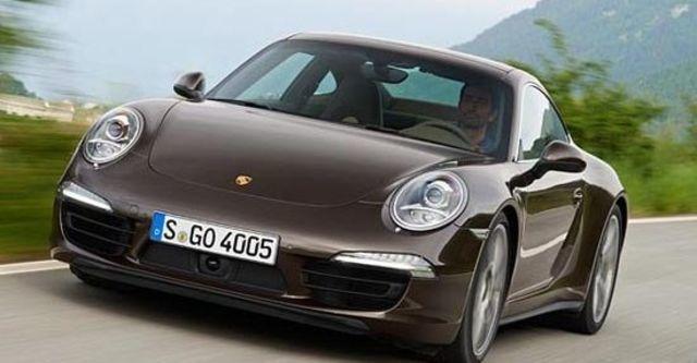 2013 Porsche 911 Carrera 4 Coupe  第10張相片