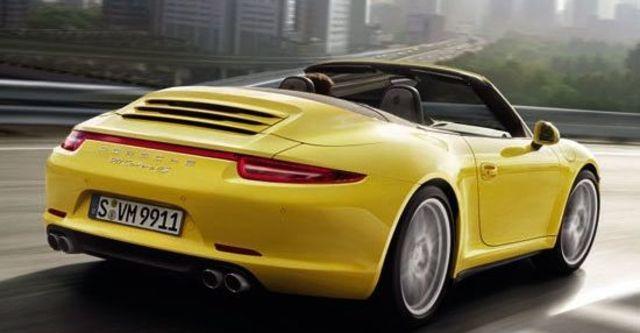 2013 Porsche 911 Carrera 4 S Cabriolet  第4張相片