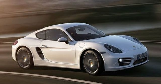 2013 Porsche Cayman 2.7  第1張相片