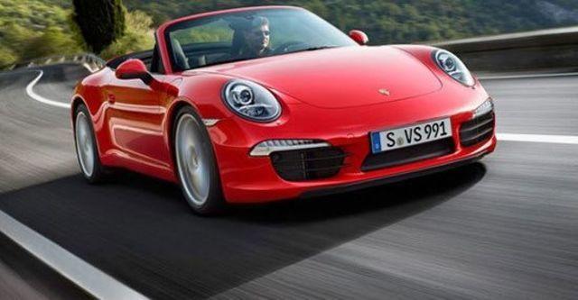 2012 Porsche 911 Carrera Cabriolet  第1張相片