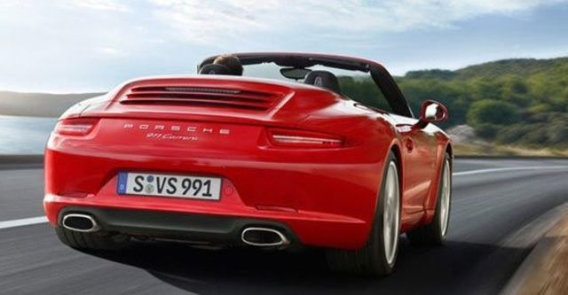 2012 Porsche 911 Carrera Cabriolet  第5張相片