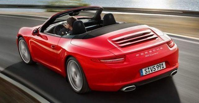 2012 Porsche 911 Carrera Cabriolet  第9張相片