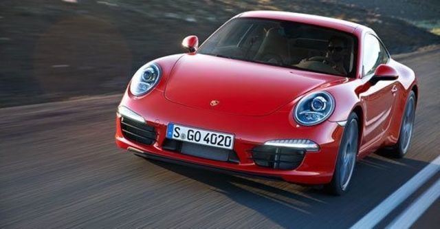 2012 Porsche 911 Carrera Coupe  第1張相片