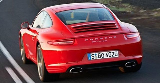 2012 Porsche 911 Carrera Coupe  第7張相片