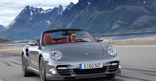 2011 Porsche 911 Turbo Cabriolet  第4張相片