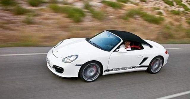 2010 Porsche Boxster Spyder  第6張相片