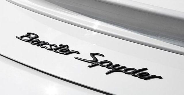 2010 Porsche Boxster Spyder  第9張相片