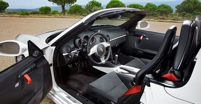 2010 Porsche Boxster Spyder  第10張相片