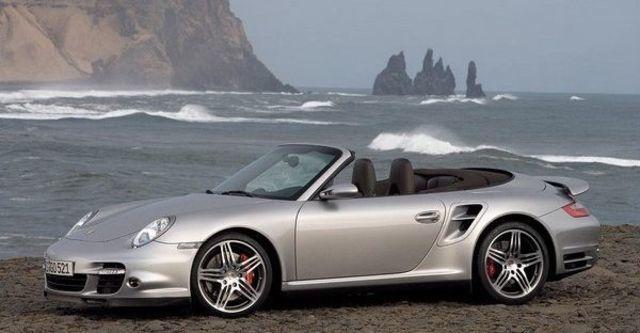 2008 Porsche 911 Turbo Cabriolet  第1張相片