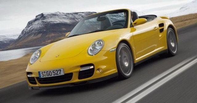 2008 Porsche 911 Turbo Cabriolet  第6張相片