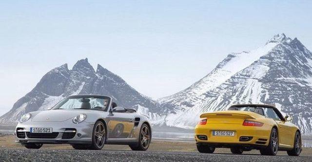 2008 Porsche 911 Turbo Cabriolet  第8張相片