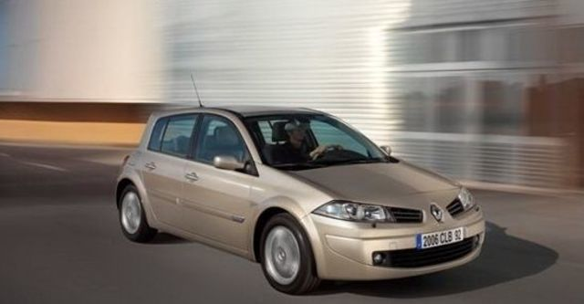 2010 Renault Megane Hatch 1.9 dCi  第1張相片