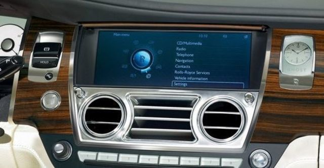 2012 Rolls-Royce Ghost 6.6 V12 EWB  第13張相片