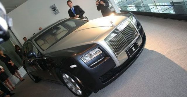 2011 Rolls-Royce Ghost 6.6 V12  第1張相片