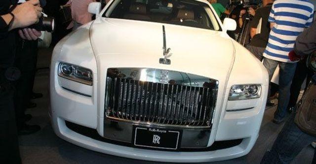 2011 Rolls-Royce Ghost 6.6 V12  第5張相片