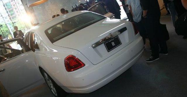2011 Rolls-Royce Ghost 6.6 V12  第11張相片