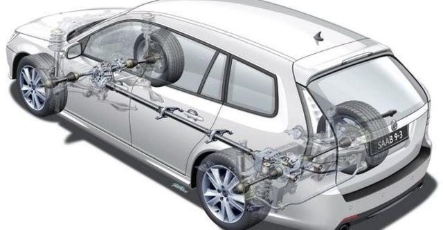 2009 Saab 9-3 SportCombi Vector 2.0TS  第8張相片