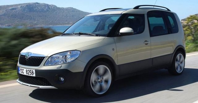 2015 Skoda Roomster 1.2 TSI Scout  第1張相片