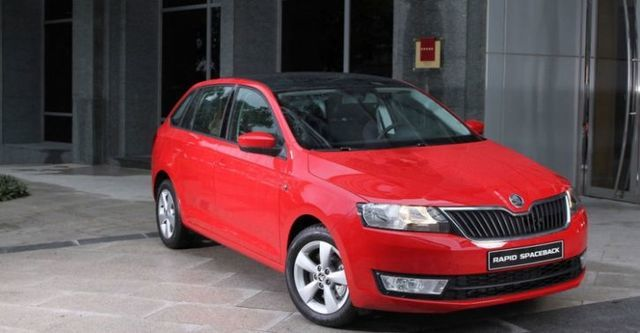 2014 Skoda Rapid Spaceback 1.4 TSI  第1張相片