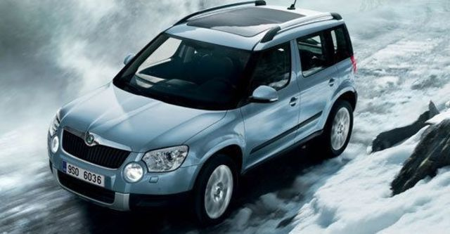 2011 Skoda Yeti 1.2 TSI 2WD豪華版  第1張相片