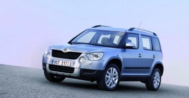 2011 Skoda Yeti 1.2 TSI 2WD都會版  第2張相片