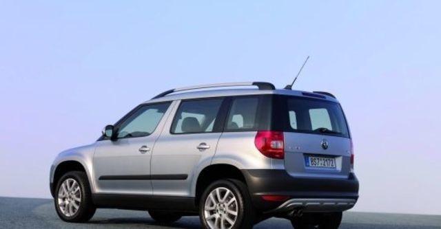 2011 Skoda Yeti 1.2 TSI 2WD都會版  第3張相片
