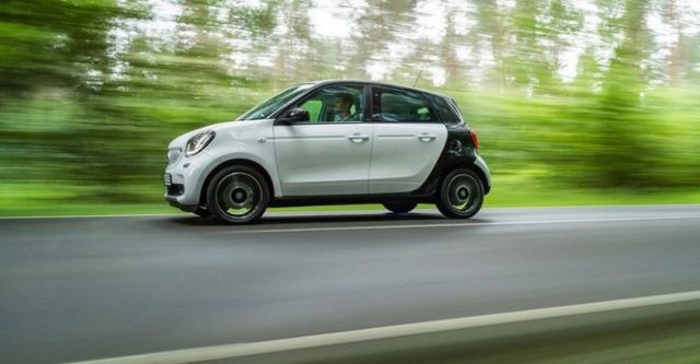 2015 Smart Forfour 66kW Passion  第3張相片