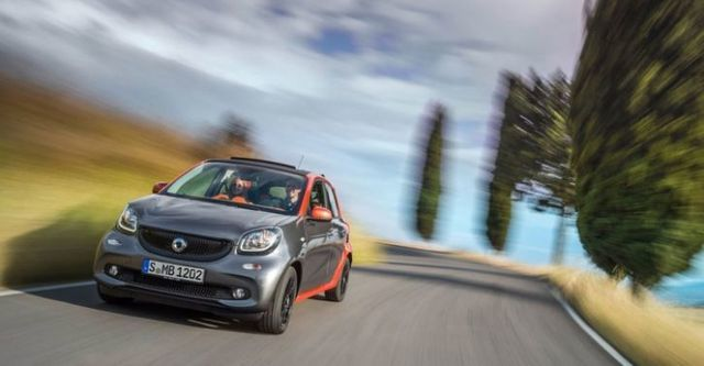 2015 Smart Forfour 66kW Passion  第5張相片