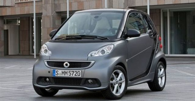 2013 Smart Fortwo Passion 62kW  第10張相片
