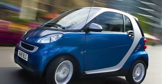 2010 Smart Fortwo Passion 62kW  第1張相片