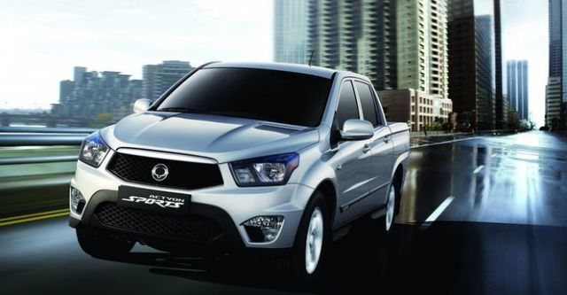 2014 Ssangyong Actyon Sports A200S 4WD  第1張相片