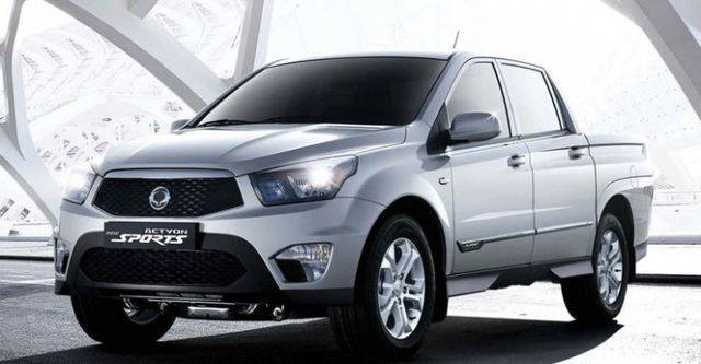 2014 Ssangyong Actyon Sports A200S 4WD  第3張相片