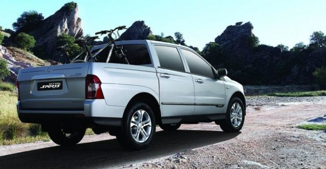 2014 Ssangyong Actyon Sports A200S 4WD  第4張相片