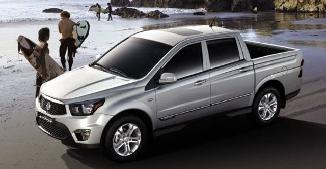 2013 Ssangyong Actyon Sports A200S 4WD  第1張相片