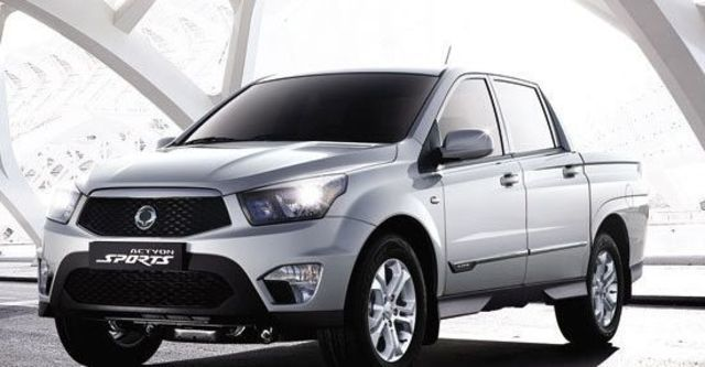 2013 Ssangyong Actyon Sports A200S 4WD  第8張相片