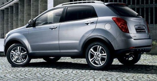 2012 Ssangyong Korando e-XDi 200 2WD豪華版  第11張相片