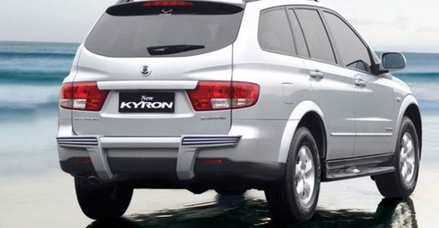 2011 Ssangyong Kyron M200 XDi榮耀限量版  第3張相片