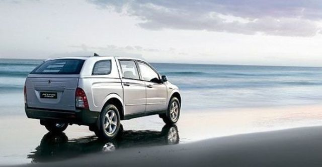 2010 Ssangyong Actyon Sports A200S 2WD  第4張相片