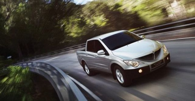 2010 Ssangyong Actyon Sports A200S 4WD  第2張相片