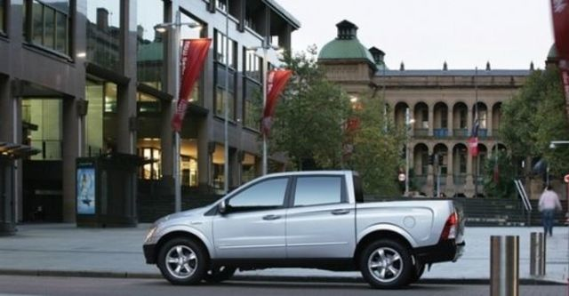 2010 Ssangyong Actyon Sports A200S 4WD  第3張相片