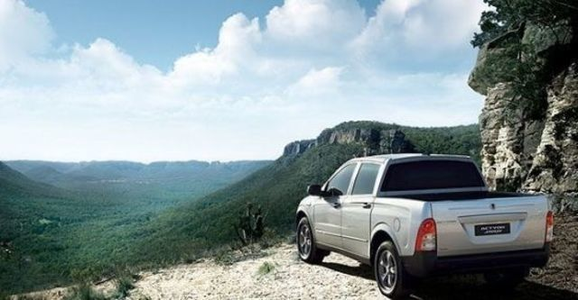 2010 Ssangyong Actyon Sports A200S 4WD  第4張相片