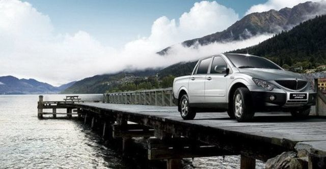 2009 Ssangyong Actyon Sports A200S 4WD  第1張相片