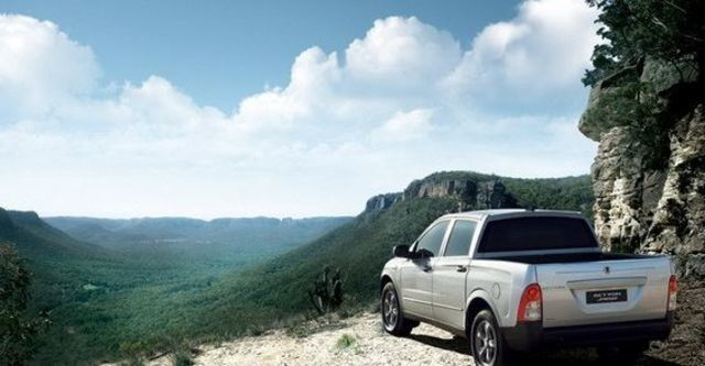2009 Ssangyong Actyon Sports A200S 4WD  第3張相片